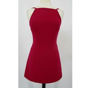 French Connection summer Whisper Square Neck Dress